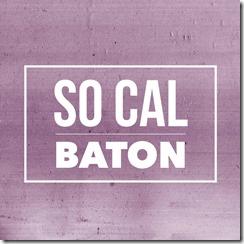 So Cal Baton Logo